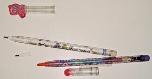 Lápis que troca a ponta