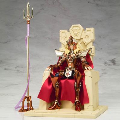 Poseidon no trono