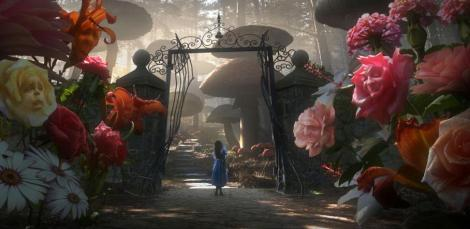 Alice no jardim das rosas