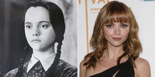 Christina Ricci, fez a Vandinha - Família Addams