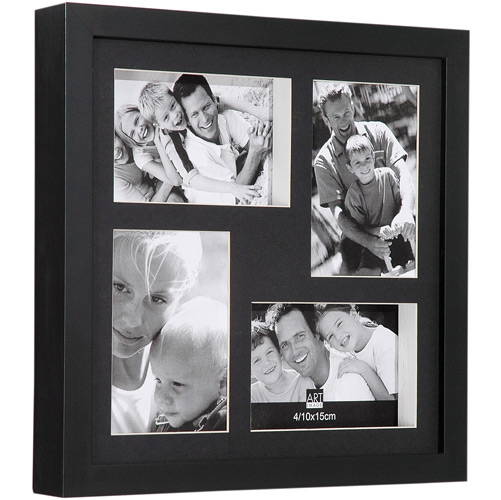Painel de Fotos Sizes Preto - 4 Fotos - Artimage,R$74,90