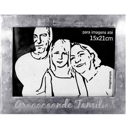 Porta Retrato Graaande Família - Imaginarium,R$59,90