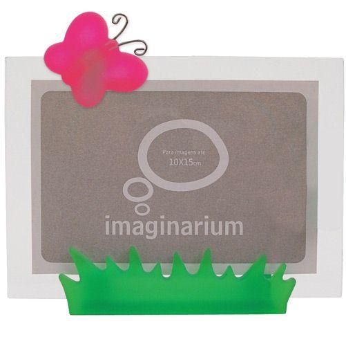 Porta Retrato Jardim Borboleta - Imaginarium,R$28,90