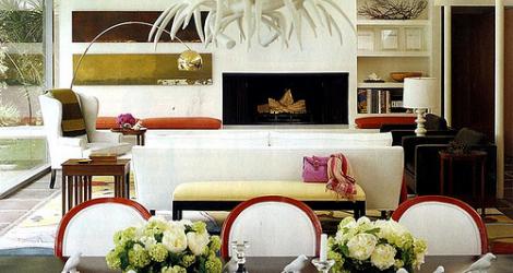 Arte - sala de jantar e sala de estar