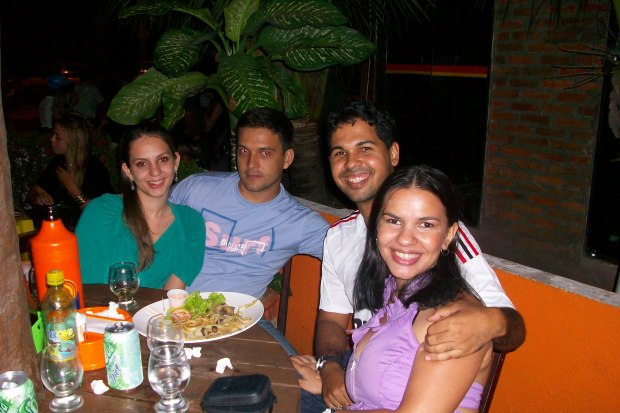 Nayara, Bruno, Natalício e eu