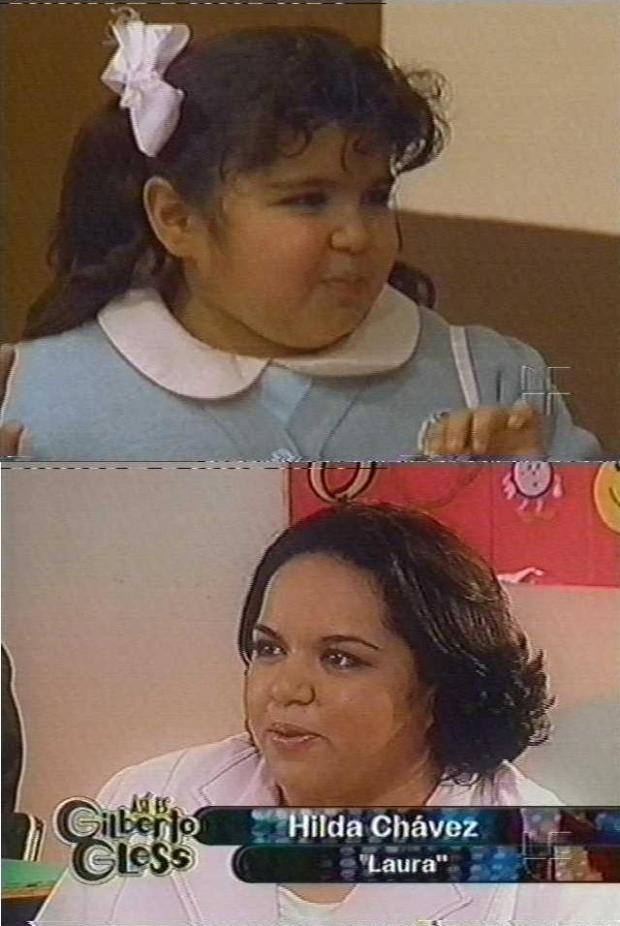 Hilda Chávez - A doce Laurinha em Carrossel