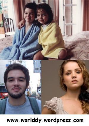 Eduardo Caldas (Alvinho) e Tatyane Goulart (Bia), em felicidade