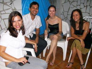 Eu, Natalício, Vaninha e Leninha (feliz natal)
